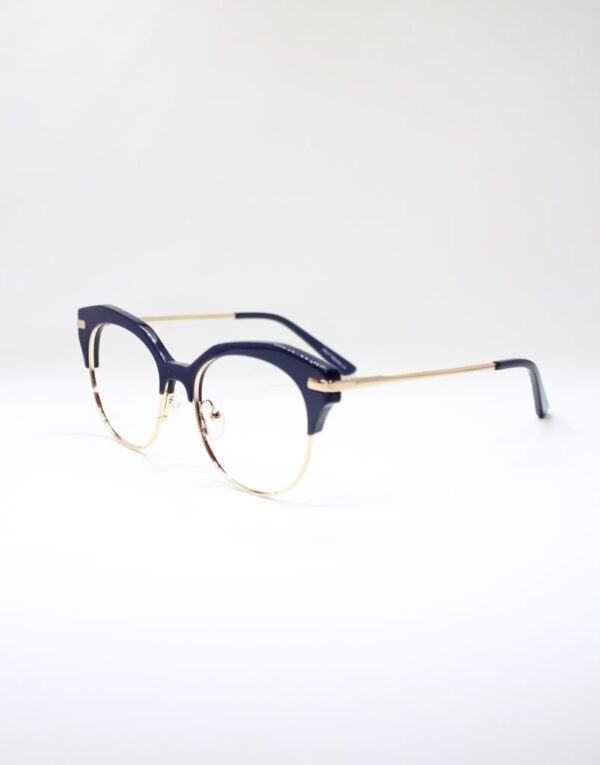 Paula blue side eyewear