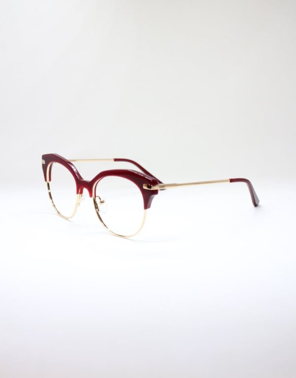 Paula red side eyewear