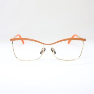 Monica Orange front eyewear