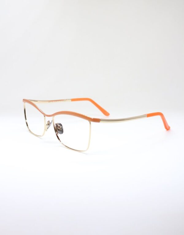 Monica Orange side eyewear
