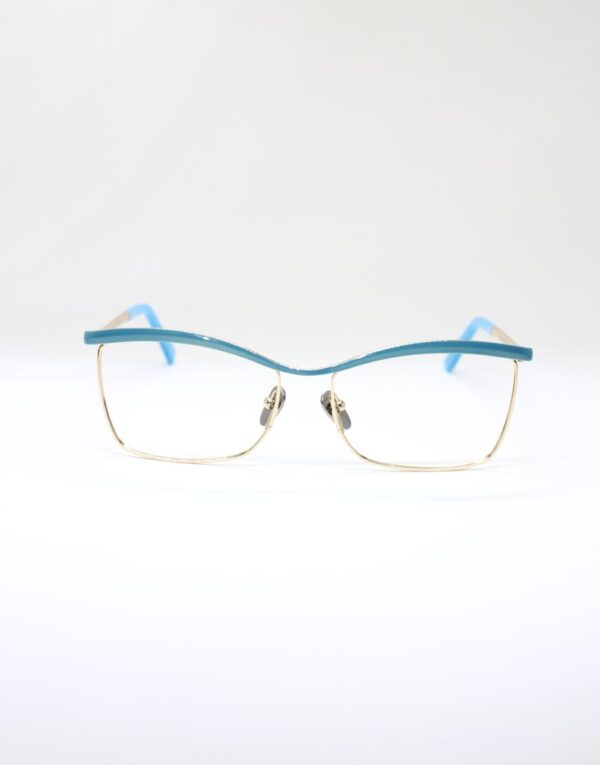 Monica blue front eyewear