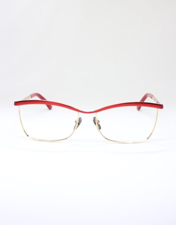Monica red front eyewear