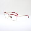 Monica red side eyewear