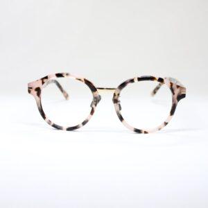 Sophia blush tort front eyewear