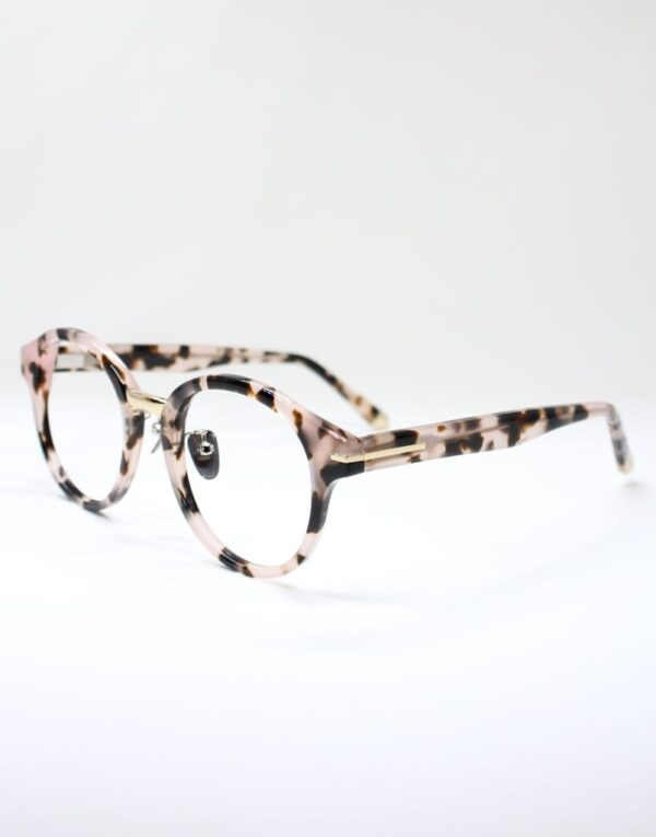Sophia blush tort side eyewear