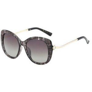 Jessica Black Plaid Eyewear